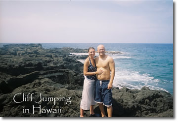 Hawaii Cliff Jumping